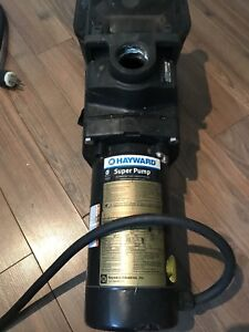 Hayward Super Pump 1HP For In Ground Pool