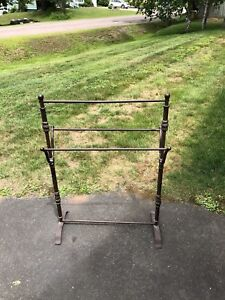 Pant Rack and Stand Up Mirror $25.00 each