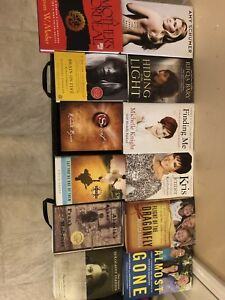 Memoirs, fitness, self help and faith books