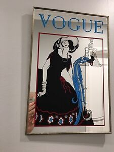 Vintage vogue mirror walk on dressing room bar   room Greenfield Park Fairfield Area Preview