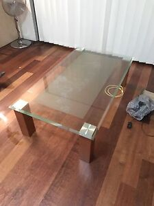 Glass top coffee table Burwood Burwood Area Preview