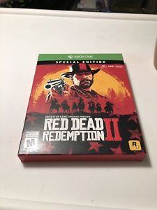 Brand new unopened red dead redemption 2 special edition