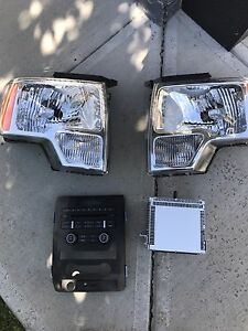 2012 f150 headlights and stereo