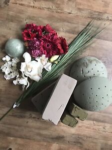 Flower Decorations and Bouquet Floral Foam — GOOD CONDITION