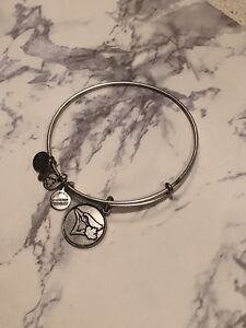 Alex&Ani Bangle - Blue Jays (Silver)