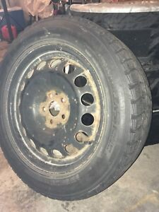 4 Tires with rims (205/55R16)