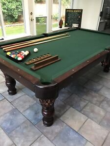 8ft National Pool Table SOLD SOLD SOLD
