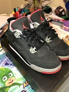 "73d771cfcfd4 Air Jordan 4 ""Bred"" size 5Y sneakers shoes kicks js men s women s ..."