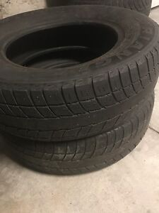 Two 205/70R15 96T TR777 tires