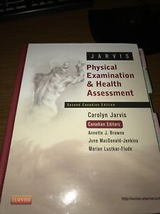 Jarvis Physical Examination and Health assessment 2nd Ed