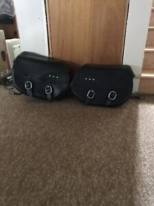 Harley Davidson Fat Boy Saddlebags
