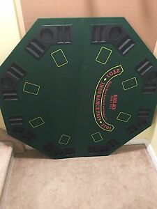 Foldable Poker table top
