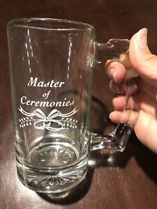 Master of Ceremonies Beer Stein