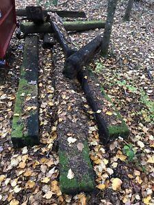 Gros morceaux de bois