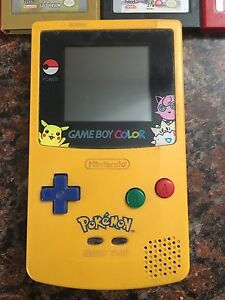 Game boy color Pokémon edition!