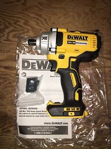 "DeWalt 20 volt XR Brushless 1/2"" Impact Wrench"