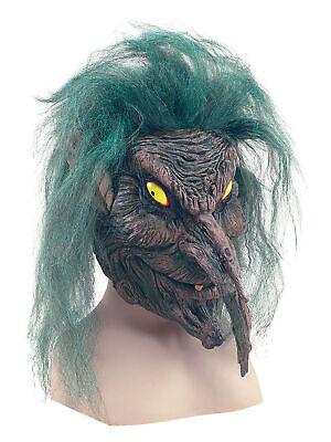 Herren Goblin Tree Kobold Maske Halloween Monster Kostüm Verkleidung (Goblin Halloween Kostüm)