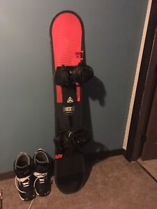 K2 Snowboard With Boots and Bindings