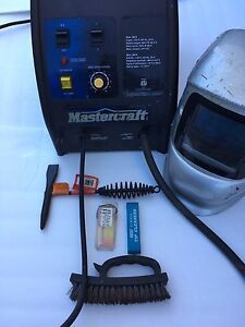 Mastercraft welder in awesome shape with extras included