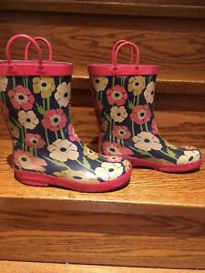 Gymboree rainboots - kids size 2