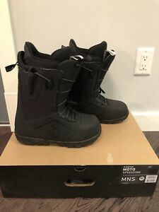 Brand New Men's Burton Moto Speed Zone Snowboard Boots, sz. 11