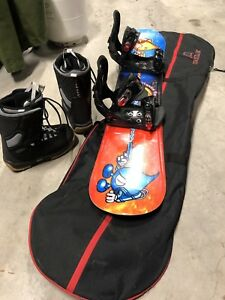 Excellent snowboard package