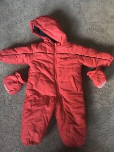 Nike 18 month snow suit