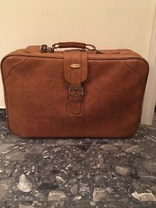 Jet Stream travel leather look luggage
