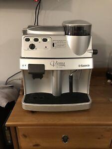 Saeco vienna de luxe fully automatic espresso machine