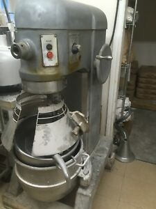 Hobart H600 mixer with guard