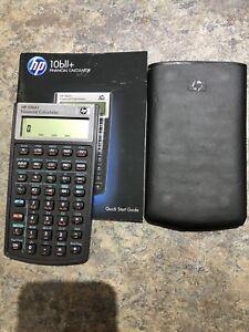 Financial Calculator-Hewlett-Packard 10bll+