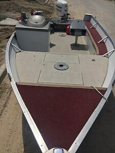17.5 ft Princecraft with 50 HP Fishing/Pleasure Boat