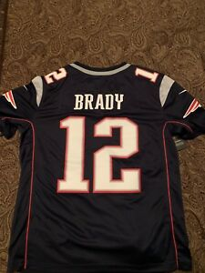 Tom Brady Authentic Official Jersey