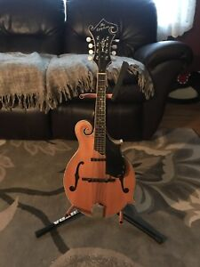 F-Style Professional Deluxe Electric/Acoustic Mandolin