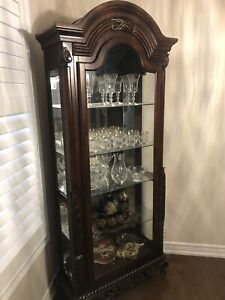 Glass hutch for sale