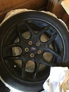 2016 Ford Focus 17' rims and tires