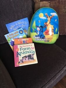 Bag  with children's books