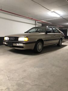 1986 Audi Coupe GT (Must Go Losing Parking Spot)