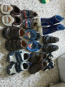 Baby boy shoes - size 3-4