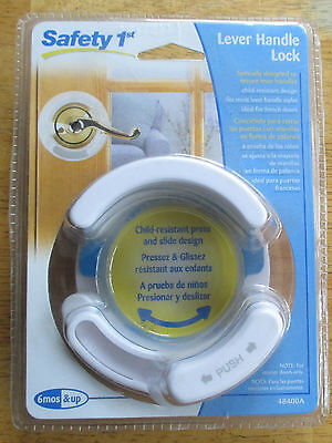 SAFETY 1ST. LEVER HANDLE LOCK, 48400A. NEW IN PACKAGE. - $8.99