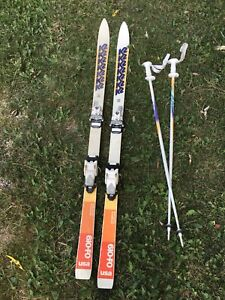 K2 Skis and Poles