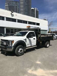 2017 FORD F550 XLT 4x4 DUMP W. Plow and salter