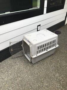 Medium sized dog crate $20