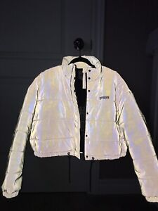 I.AM.GIA HERSILLA JACKET SILVER// BRAND NEW WITH ORIGINAL TAGS