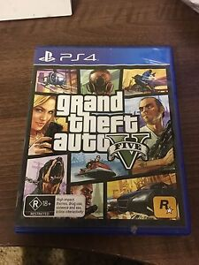 PS4 GAMES - Grand Theft Auto 5 Capalaba Brisbane South East Preview