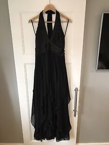 Beautiful BCBG low back gown
