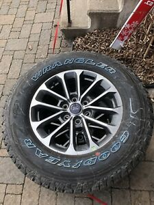 F150 2018 rims and tires LT275x65R18