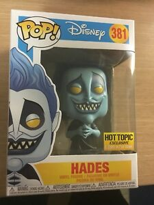 Funko Pop - Glow in the Dark Hades (Hot Topic Exclusive)