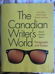 The Canadian Writer's World. Second Canadian Edition