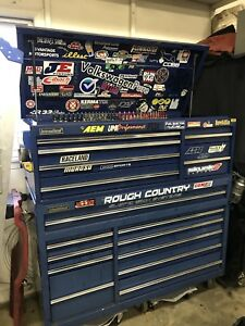 International tool box with tools